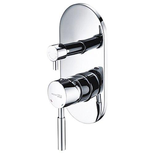 Смеситель для ванны с подключением душа WasserKRAFT Main 4141 однорычажный встраиваемый смеситель для ванны с подключением душа wasserkraft elbe 7441 однорычажный встраиваемый