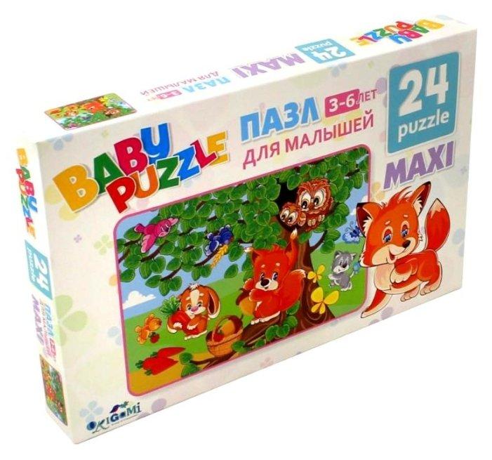 Пазл Origami Собираем ягоды (02984), 24 дет.