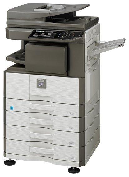 МФУ Sharp MX-M266N, белый/черный