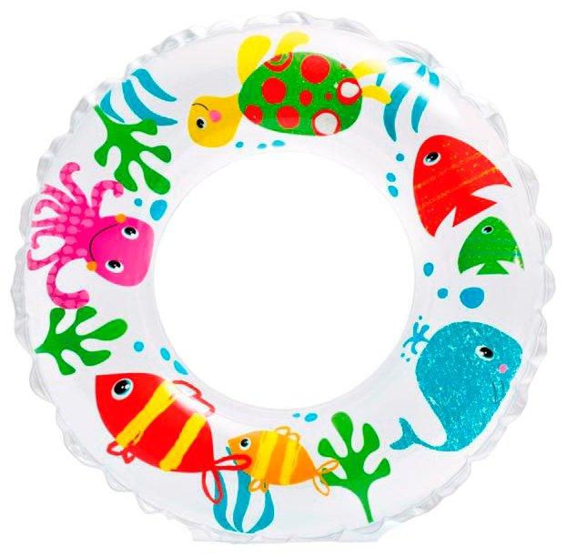 Надувной круг Intex Подводный мир 58245