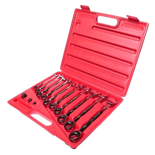 Набор гаечных ключей JTC AUTO TOOLS (13 предм.) 3028 набор гаечных ключей jtc auto tools 11 предм 5351 серебристый
