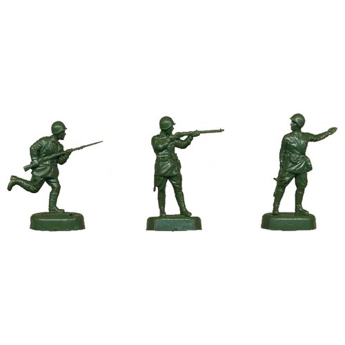 Купить Сборная модель ZVEZDA Советская пехота 1941-1943 (6103) 1:72, Сборные модели