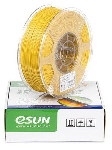 PLA+ пруток ESUN 1.75 мм желтый 1 кг фото 1