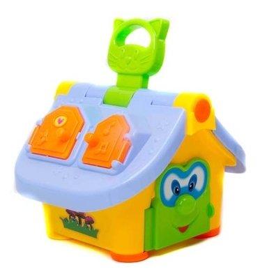 Сортер BK Toys Домик (свет, звук)