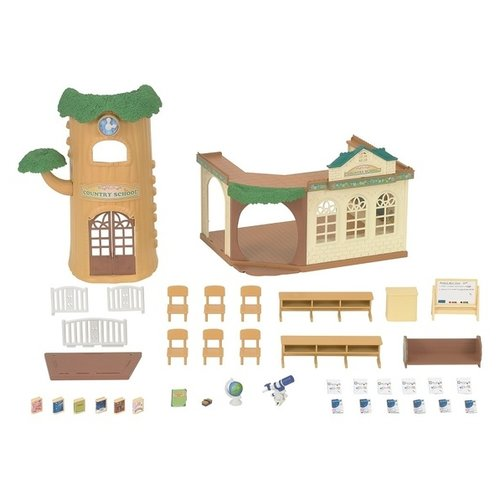 Купить Игровой набор Sylvanian Families Лесная школа 5105, Игровые наборы и фигурки