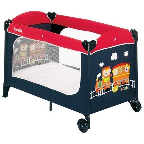 цена на Манеж-кровать Brevi Dolce Nanna Plus red