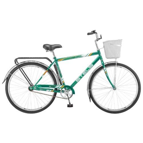 """Городской велосипед STELS Navigator 300 Gent 28 Z010 (2018) зеленый 20"""" (требует финальной сборки)"""