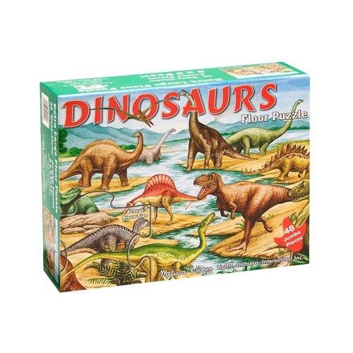 Купить Пазл Melissa & Doug Динозавры (421), 48 дет., Пазлы
