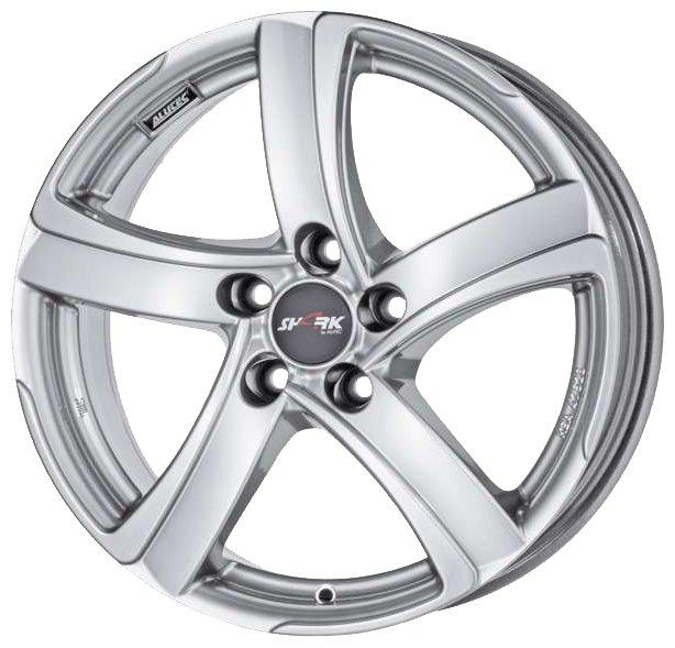 Колесный диск Alutec Shark 7.5x17/5x108 D70.1 ET47 Silver