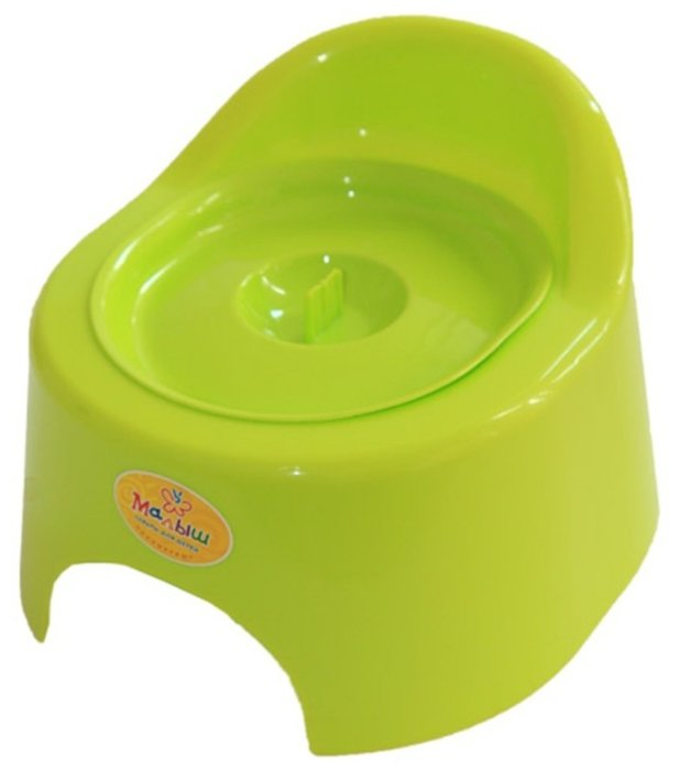 Полимербыт горшок детский туалетный с крышкой (118)