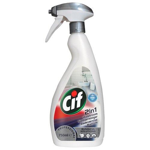 Cif для туалетных комнат Professional 2 в 1 0.75 л