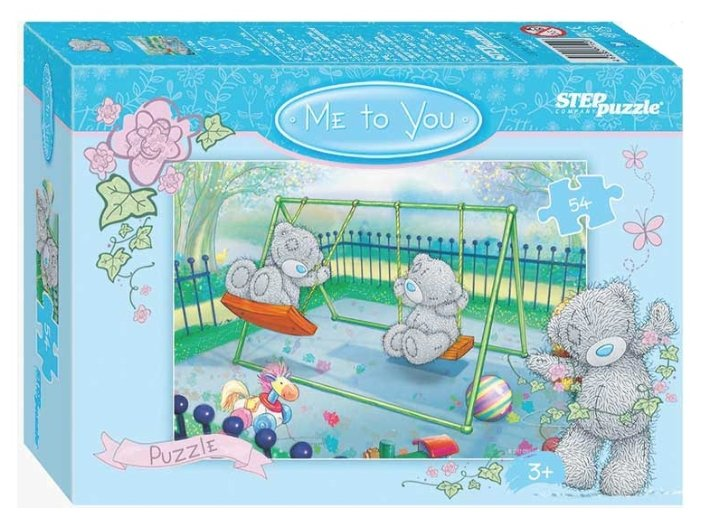 Пазл Step puzzle Cartе Blanche Me to You - 2 (71150) в ассортименте, 54 дет.