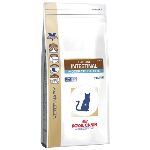 Корм для кошек Royal Canin Gastro Intestinal Moderate Calorie GIM35 (4 кг)