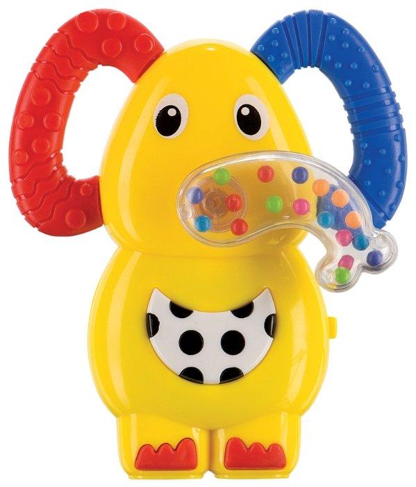 Прорезыватель-погремушка Happy Baby Jumbo