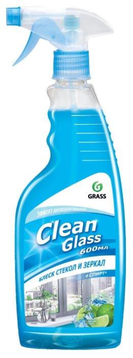 """Очиститель стекол GRASS """"Clean Glass"""" Голубая лагуна, 600мл"""