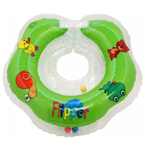 Круг на шею Flipper FL001 зеленый