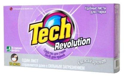 Салфетки LG H&H Tech Revolution Свежий аромат (автомат)