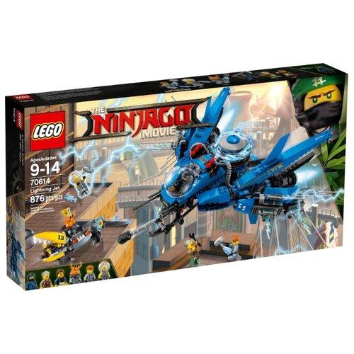 Конструктор LEGO The Ninjago Movie 70614 Самолет-молния Джея game deal playstation lego ninjago movie