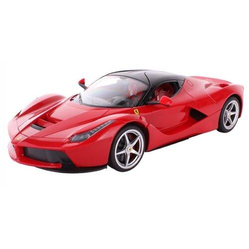 Легковой автомобиль Rastar Ferrari LaFerrari (50100) 1:14 34 см красный легковой автомобиль rastar ferrari 458 italia 47300 1 14 32 5 см красный
