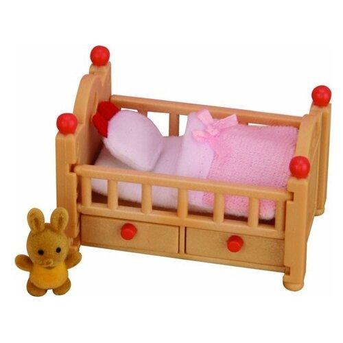Купить Игровой набор Sylvanian Families Детская кроватка 2929, Игровые наборы и фигурки