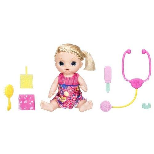 Интерактивная кукла Hasbro Baby Alive Малышка у врача, 35 см, C0957Куклы и пупсы<br>