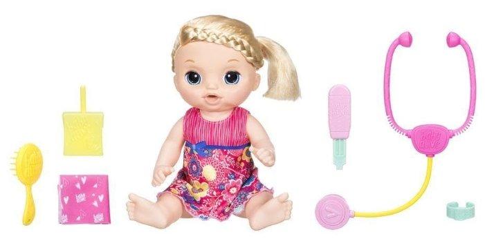 Интерактивная кукла Hasbro Baby Alive Малышка у врача, 35 см, C0957