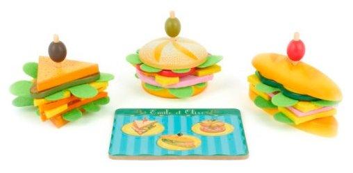Набор продуктов DJECO Сэндвичи от Эмиля