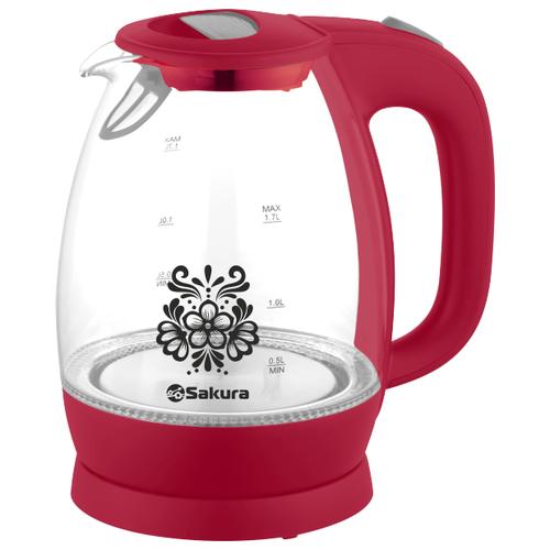 Чайник Sakura SA-2715, красный