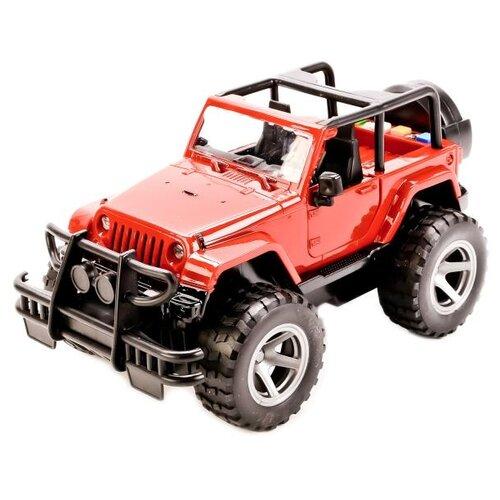 Купить Внедорожник ТЕХНОПАРК Джип (WY390A) 22 см красный, Машинки и техника