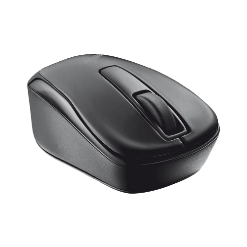Мышь Trust Qvy Wireless Micro Mouse Black USB