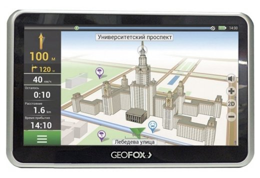 Навигатор GEOFOX MID702GPS