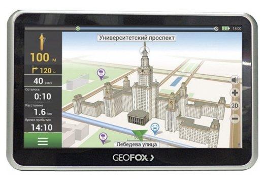 GEOFOX Навигатор GEOFOX MID702GPS