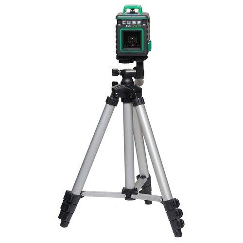 цена на Лазерный уровень самовыравнивающийся ADA instruments CUBE 360 Green Ultimate Edition (А00470) со штативом