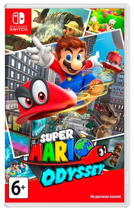 Super Mario Odyssey фото 1