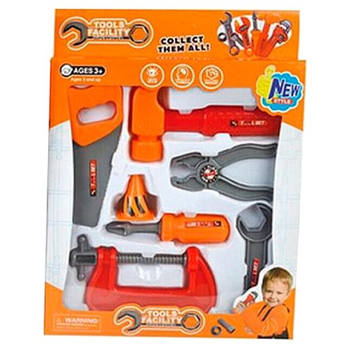 Junfa toys Набор инструментов, 7 предметов 36778-44