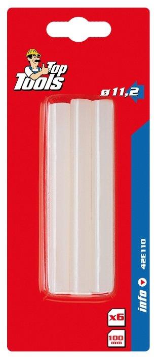 Top Tools Клеевые стержни 11x100 мм, 6 шт