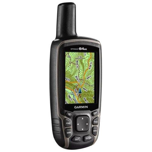 Навигатор Garmin GPSMAP 64st автомобильный набор для навигатора garmin oregon colorado dakota gpsmap 62 64