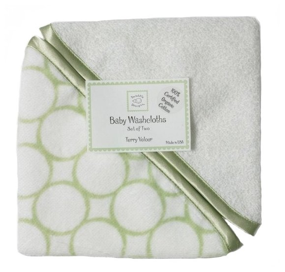 Салфетка для купания Swaddle Designs Washcloth set