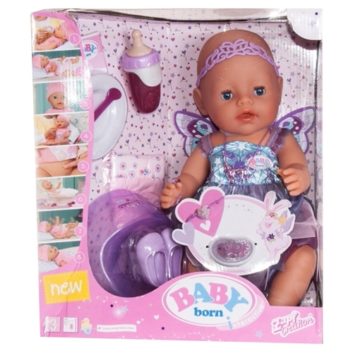 Интерактивная кукла Zapf Creation Baby Born Фея, 43 см, 822-821