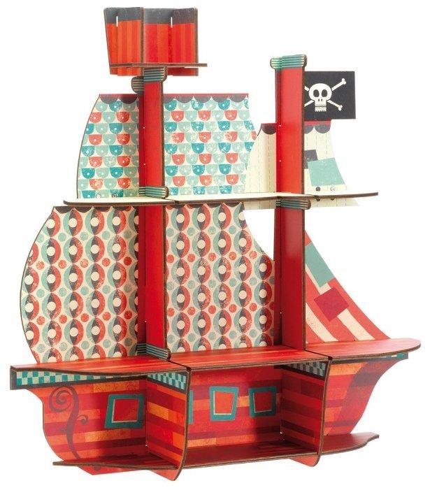 3D-пазл DJECO Пиратский корабль (03203)