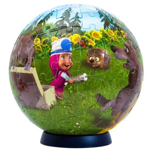 Купить 3D-пазл Step puzzle StepBall Маша и Медведь (98144), элементов: 108 шт., Пазлы