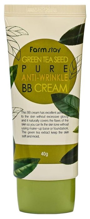 Farmstay Green Tea Seed BB крем Pure Anti-Wrinkle 40 гр