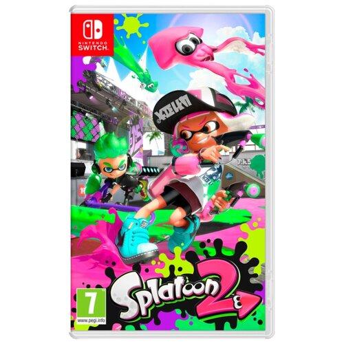 Игра для Nintendo Switch Splatoon 2 игра для nintendo switch zumba burn it up