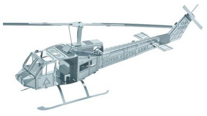 Сборная модель Educational Line 3D Metal Puzzle Вертолёт