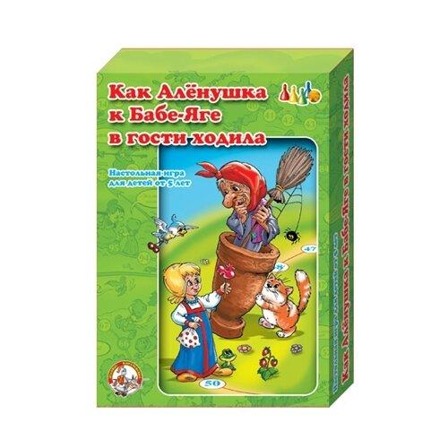 Купить Настольная игра Десятое королевство Как Аленушка к бабе Яге ходила 00293, Настольные игры