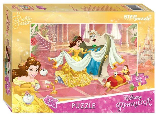 Пазл Step puzzle Disney Красавица и Чудовище - 2 (81156), 60 дет.