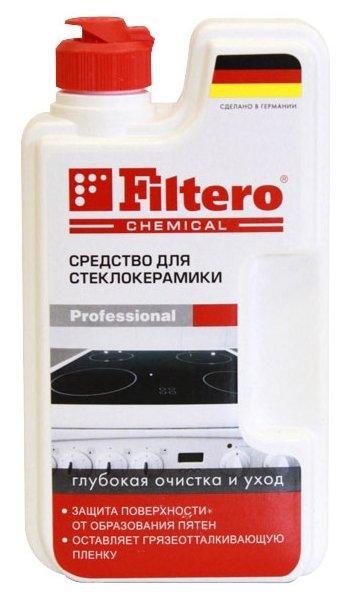 Средство для стеклокерамики Глубокая очистка и уход с силиконом (202) Filtero