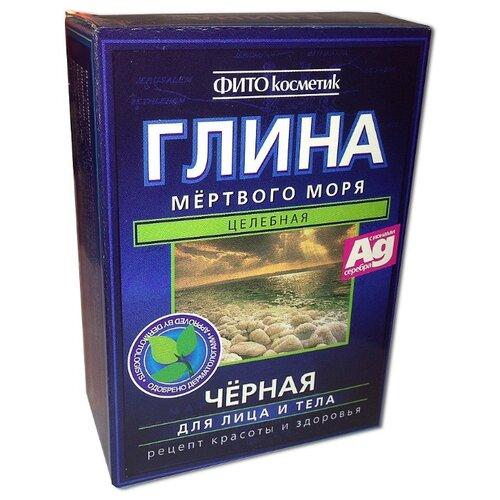 Fito косметик глина черная Мертвого моря, 100 г р косметик подольск