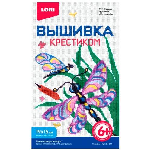 Купить LORI Набор для вышивания Стрекозы 19 х 15 см (Вм-012), Наборы для вышивания