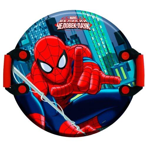 Фото - Ледянка 1 TOY Человек-Паук (Т59096) красный/синий ледянка 1 toy человек паук т59096 красный синий